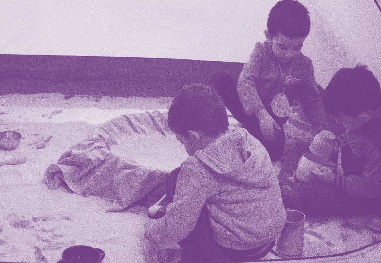 El obrador de arena. Nuevo espacio de juego para niñas y niños de 2 a 5 años.